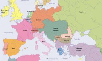 1900 Yılında Avrupa