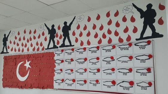 18 Mart Çanakkale Zaferi Pano Çalışmaları