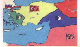 İtilaf Devletlerinin Osmanlıyı Paylaşmak İçin Yaptığı Antlaşmalar