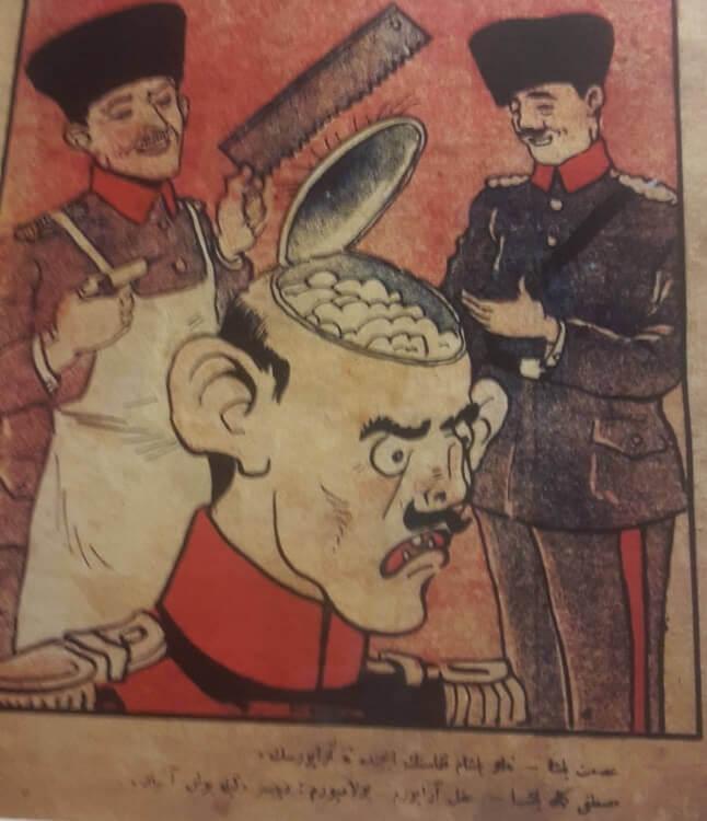 Milli Mücadele Dönemi Karikatürleri