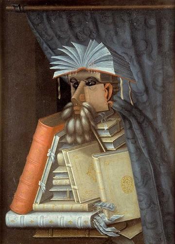 Giuseppe Arcimboldo - Kütüphaneci