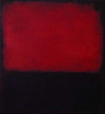 Mark Rothko - Kırmızı ve Siyah