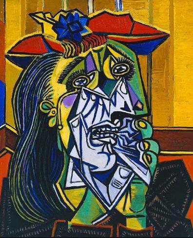 Pablo Picasso - Ağlayan Kadın