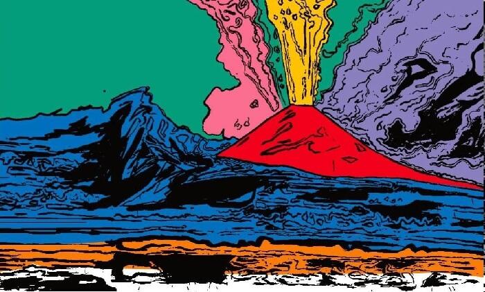 Andy Warhol - Vezüv Yanardağı