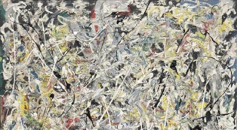 Jackson Pollock - Beyaz Işık