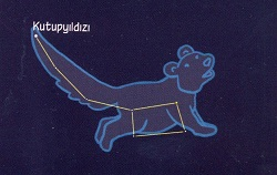 Ursa Minor (Küçük Ayı) Takımyıldızı