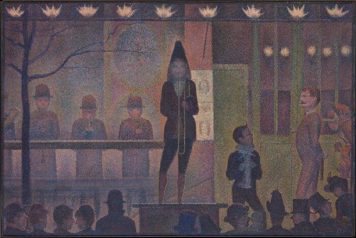 Georges Seurat - Sirk Gösterisi