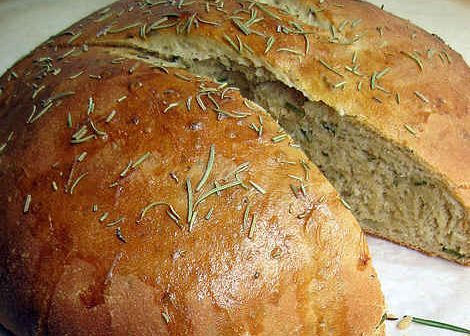 Biberiyeli Zeytinyağlı Ekmek Tarifi