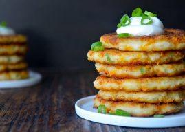 Patatesli Peynirli Pankek Tarifi – Resimli Tarif