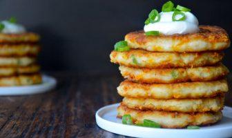 peynirli patatesli pankek