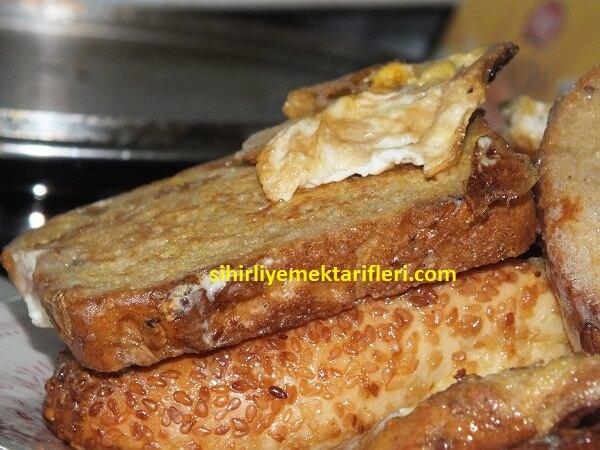 Yumurtalı Ekmek Kızartması Tarifi (Sütsüz)