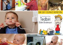 Evi Çocuk İçin Güvenli Hale Getirme, Alınması Gereken Önlemler