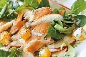 Balık Salatalı Elma Dilimleri Tarifi