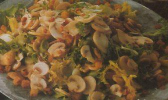 Hardal Soslu Mantar Salatası Nasıl Yapılır?