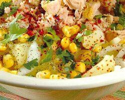 Ton Balıklı Patates Salatası Tarifi