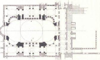 Ayasofya'nın Mimari Planı