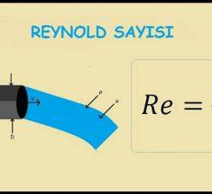 Reynold Sayısı Nedir? Nasıl Hesaplanır?