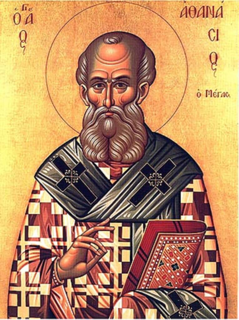 Aziz Athanasius'un İkonu
