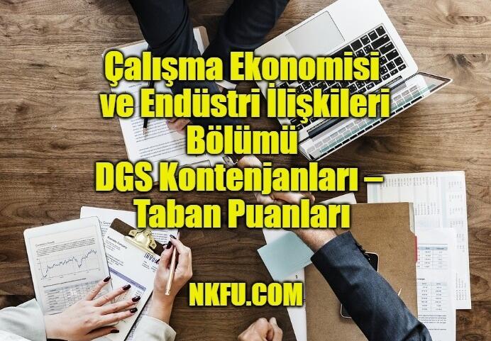 Çalışma Ekonomisi ve Endüstri İlişkileri Bölümü