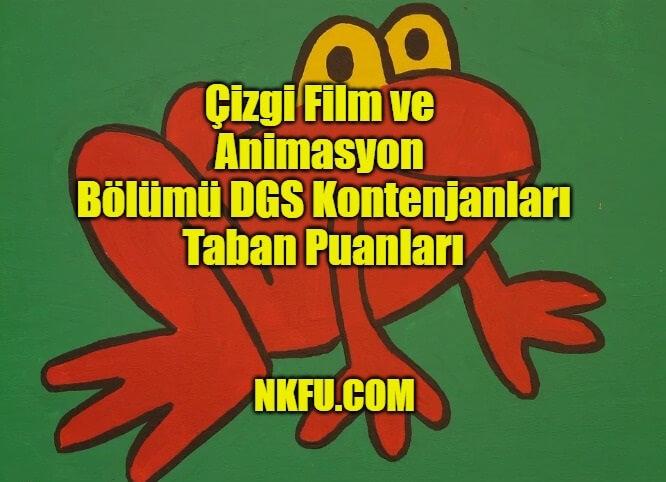 Çizgi Film ve Animasyon Bölümü DGS