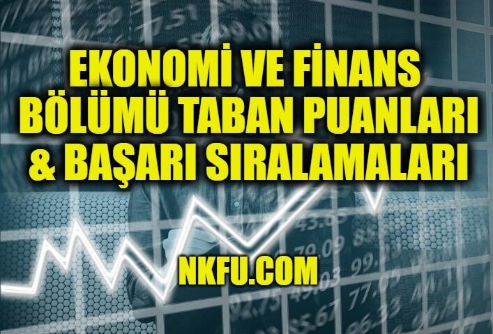 Ekonomi ve Finans