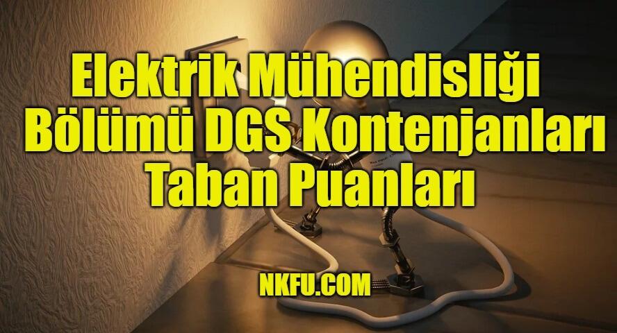 Elektrik Mühendisliği Bölümü DGS