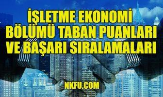 İşletme Ekonomi