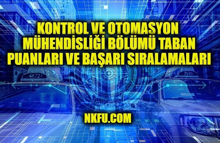 Kontrol ve Otomasyon Mühendisliği