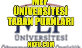 MEF Üniversitesi