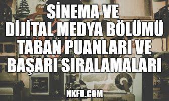 Sinema ve Dijital Medya Taban Puanları