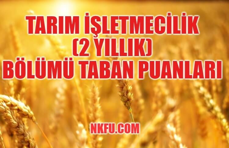 Tarımsal İşletmecilik