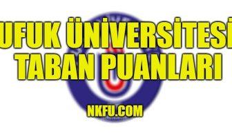 Ufuk Üniversitesi Taban Puanları