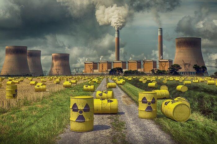 radyasyon kirliliği