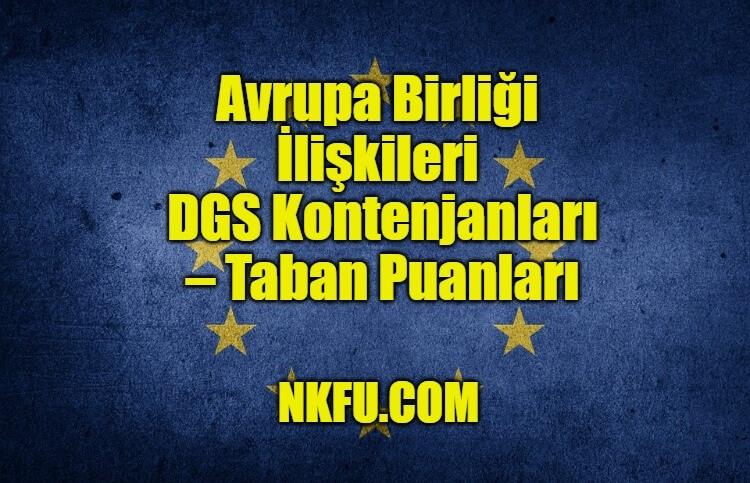 Avrupa Birliği İlişkileri Bölümü DGS
