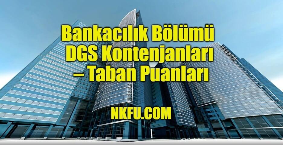 Bankacılık Bölümü DGS