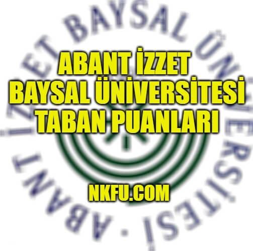 Bolu Abant İzzet Baysal Üniversitesi