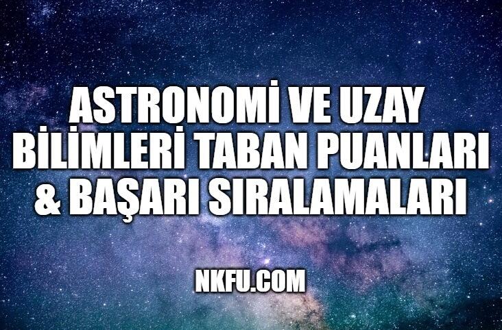 Astronomi ve Uzay Bilimleri