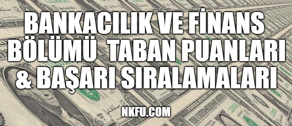 Bankacılık ve Finans