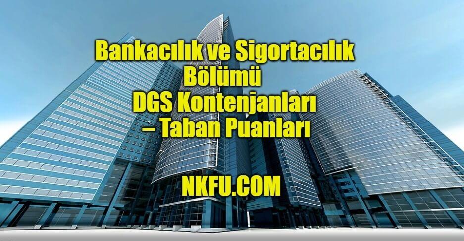 Bankacılık ve Sigortacılık Bölümü
