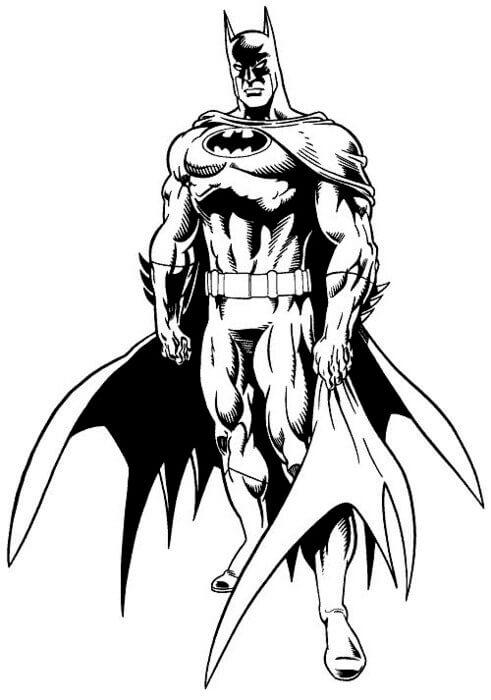 Batman Boyama Sayfaları