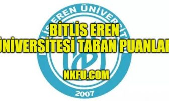 Bitlis Eren Üniversitesi