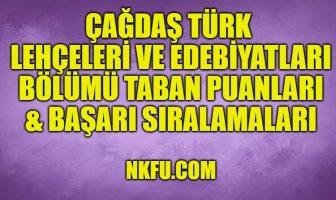 Çağdaş Türk Lehçeleri ve Edebiyatları