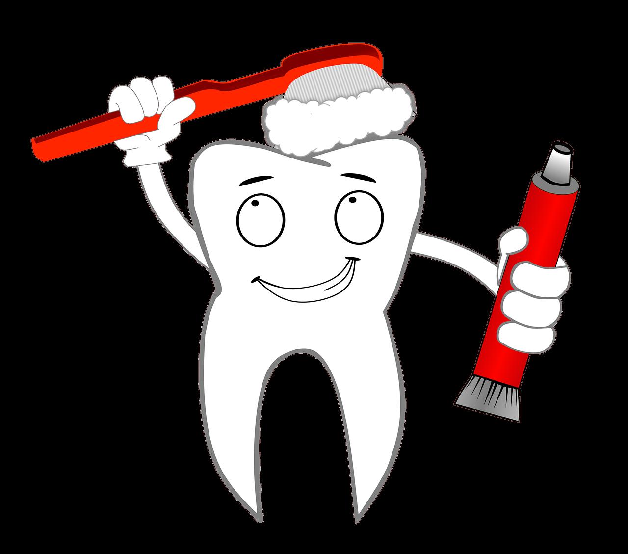 Diş Sağlığı Boyama Sayfaları