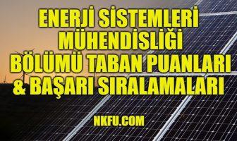 Enerji Sistemleri Mühendisliği
