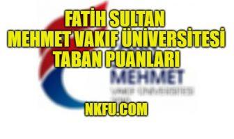 Fatih Sultan Mehmet Vakıf Üniversitesi