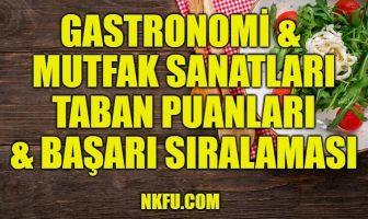 Gastronomi & Mutfak Sanatları