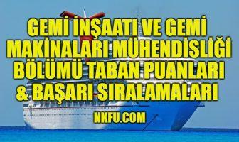 Gemi İnşaatı Gemi Makinaları Mühendisliği