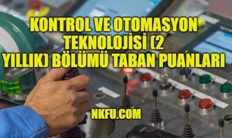 Kontrol ve Otomasyon Teknolojisi