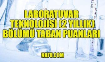 Laboratuvar Teknolojisi