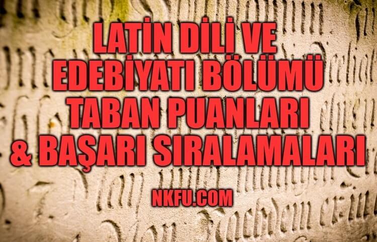 Latin Dili ve Edebiyatı